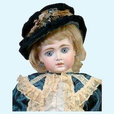 "Darling 20""  German Belton-Type 183  Sonneberg Doll in the French Manner"