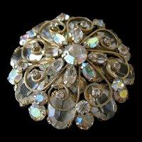 Unusual Rare  Vintage Schreiner Pin  Pendant  Brooch
