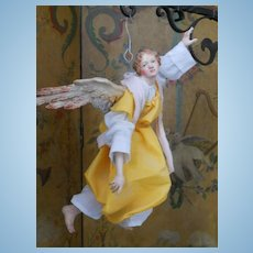 ~~~RESERVED for L.  *** Wonderful and Rare Grand Size Neopolitan Angel ~~~