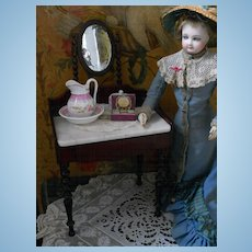 ~~~Reserved //  Pretty French Poupee Dressing Table ~~~