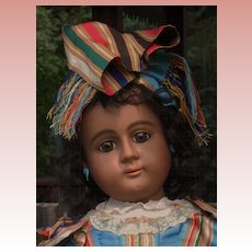 ~~~ Rare German Bisque Brown-Complexioned Child ~~~