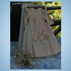 ~~~RESERVED for F.K. //  Pretty Pink Cotton Dress in Box ~~~