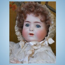 ~~~ON HOLD  ~~~ Very Charming German Bisque Character by Koenig & Wernicke ~~~~~~