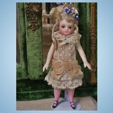 ~~~RESERVED for U. ~~~Pretty French All-Bisque Mignonette with Original Costume ~~~
