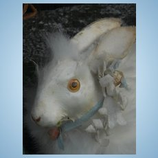 ~~~ Sweet Wind - Up Bunny for Doll Display ~~~