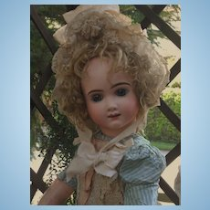 ~~~ HOLD for M. // Rare French Bisque Bebe by Thuillier ~~~