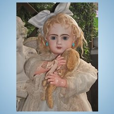 ~~~ Sweet Bisque Jumeau Girl size 12 ~~~