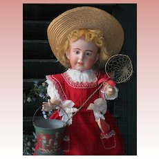 ~~~ Pretty French Bisque Character Girl ~ 238 ~ by SFBJ ~~~