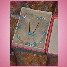 ~~~ Pretty Antique Jewelry Set for Poupee´s ~~~