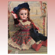 ~~~Reserved for E. //  Antique French Jumeau Mark Bisque Bebe ~~~