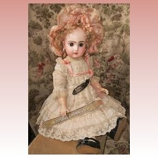 ~~~ Most Beautiful French Bisque Bebe by Jumeau in Factory Box ~~~