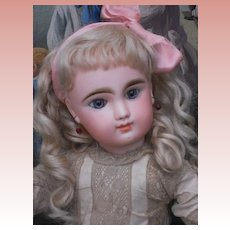 ~~~Captivating French Childlike Bisque Bebe by Gaultier ~~~