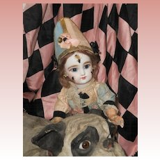~~~Reserved //  Lovely rare all Original Eden Clown , Attic Condition ~~~