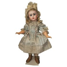 ~~~ Pretty French Bisque Bebe by Jumeau in all original Condition with Superb Dress ~~~
