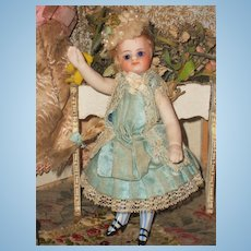 ~~~ Mademoiselle Mignonette with Rare Painted Socks & Original Clothing ~~~
