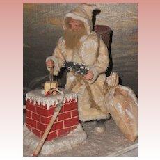 ~~~ Beautiful German Santa Claus Christmas Scene ~~~