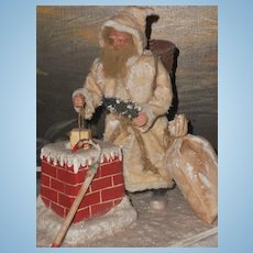 ~~~ Beautiful German Santa Claus Christmas Scene ~~~