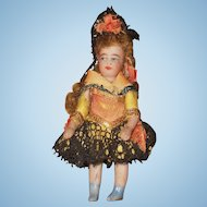 "~~~  Lovely Factory Original "" Lilliputians "" Bisque Mignonette ~~~"