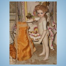 ~~~ Rare French All Bisque Mignonette attributed By Schmitt et Fils ~~~