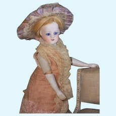 ~~~ Rare Fernand Sustrac Mademoiselle Mignonette / 1875 ~~~