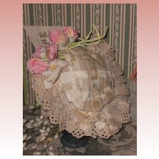 ~~~ Pretty French Bebe Bonnet ~~~
