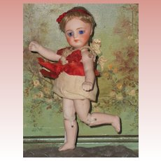 ~~~ Extremely Rare All Bisque Jointed~Limb~Body Darling by Kestner ~~~