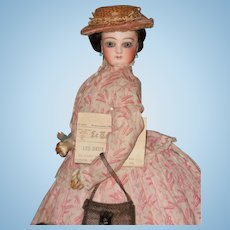 ~~~ Jumeau French Bisque Poupee in fine original Condition   ~~~