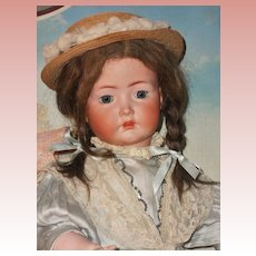 ~~~ON HOld for B. // Lovely Large German Bisque Child 117n. by Kammer and Reinhardt ~~~