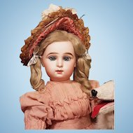 """~~~ Rare Childlike French Bisque """" Paris Bebe """" by Jumeau ~~~"""