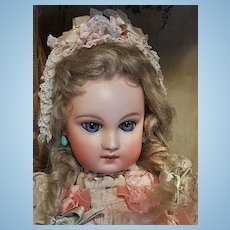 ~~~ Rare Amazing French Bisque Premier Bebe by Jumeau ~~~