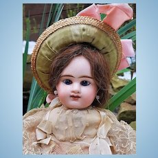 ~~~On HOLD for I . // Lovely all Original French Bisque Bebe Girl by Denamur ~~~