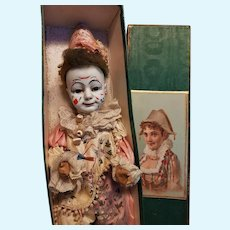 ~~~ Outstanding French Bisque Bebe Clown ~~~