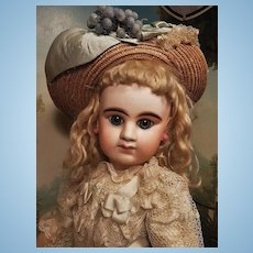 ~~~ Rare First Period French Bisque Bebe Girl by Denamur ~~~