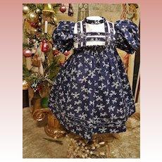 "~~~ Nice German Doll Dress for circa 14"" ~~~"