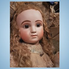 ~~~ Rare Large Early Series C French Bisque Bebe by Jules Steiner ~~~