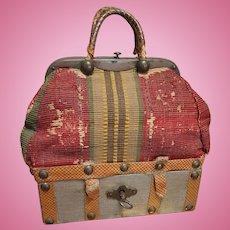 ~~~ Rare French Sac du Voyage for Huret , Rohmer , Barrois , Bru .... ~~~