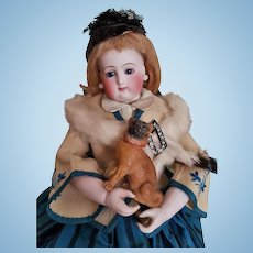 ~~~ Lovely French Poupee Puppy Candy-Box ~~~