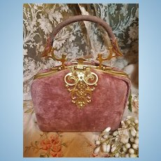 ~~~ Lovely Nécessaire Silk Velvet Bag for Doll Decoration ~~~