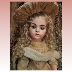 ~~~ Outstanding French Bisque Bebe by Leon Casimir Bru size 11 ~~~