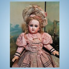 ~~~Reserved for M . //  Rare Bisque Bebe Printemps by Jumeau Factory Special Series / 1890 ~~~