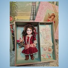 ~~~ Lovely Presentation with French Bisque Bebe and Extra Clothing ~~~