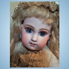 ~~~ Marvelous Early E.J. Bisque Bebe by Emile Jumeau ~~~