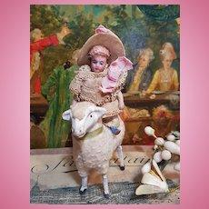 ~~~ Cute Factory Original Tiny Bisque Lilliputian Mignonette ~~~