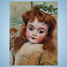 ~~~  Happy Face French Bisque Bebe Cherie by Lanternier & Cie ~~~