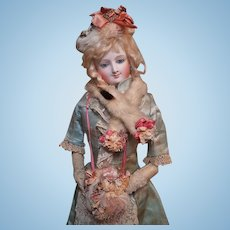 ~~~ Superb French Three Piece Fur Stole and Muff Set ~~~