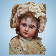 ~~~ Cute all Original Jumeau Bebe 1907 Factory Original ~~~