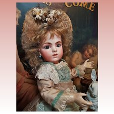 ~~~ Angel Face French Bru Jne. size 5 Bisque Bebe by Leon Casimir Bru ~~~