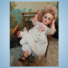 ~~~ Lovely Bisque Bebe Louvre by Jumeau Factory Special Series / 1890 ~~~