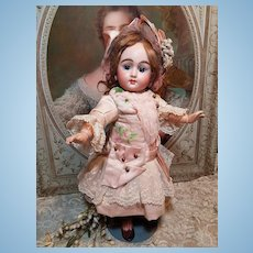 ~~~ Rare French Mystery Bisque Bebe made for Paris Doll-Shop ~~~