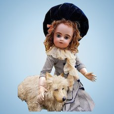 ~~~Large French Bisque Bebe by Gaultier in Superb Costume ~~~